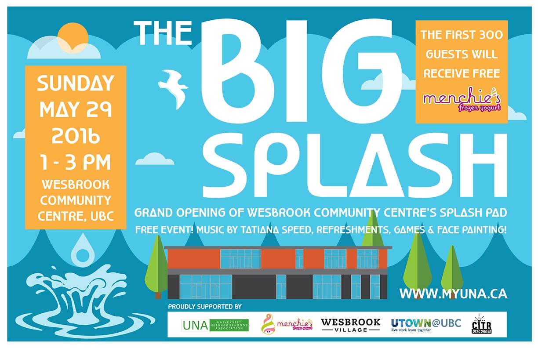 Grand Opening of the Splash Pad @ Wesbrook Community Centre, UBC | Vancouver | British Columbia | Canada