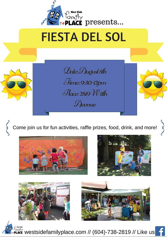 Fiesta del Sol @ West Side Family Place | Eugene | Oregon | United States