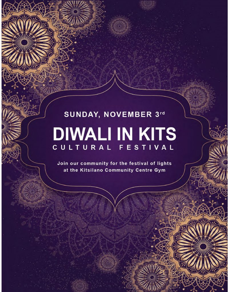 Diwali in Kits @ Kitsilano Community Centre Gym